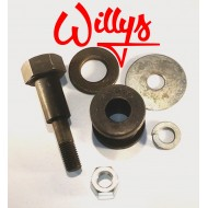 Kit vis fixation dynamo 6 volts Willys MB
