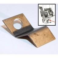 Butée ressort thermostatique / volet collecteur