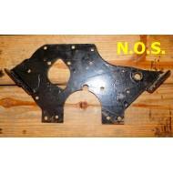 Plaque support moteur AV - pignons - N.O.S.