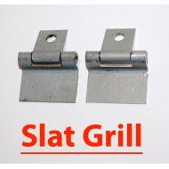 Charnières coffres outils SLAT GRILL Willys - paire