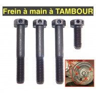 Jeu vis fixation support frein main  tambours