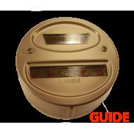Lanterne arrière droite black out - GUIDE - 6v