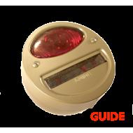 Lanterne arrière gauche STOP - GUIDE - 6v