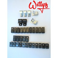 Kit collier fixation faisceau Willys MB