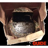 Ampoule cartouche de black out d'aile 6 Volts NOS - GUIDE