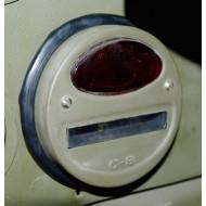 Joint caoutchouc à lèvres lanterne stop B.O. - La paire