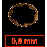 Cale réglage pignon synchro - 0,8 mm