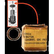 Rondelle cuivre couvercle filtre huile