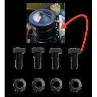 kit fixation brides filtre à huile - standard