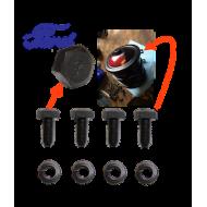 kit fixation brides filtre à huile - Ford