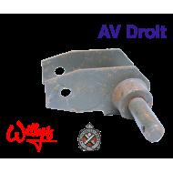 Support amortisseur AV droit Willys - M201