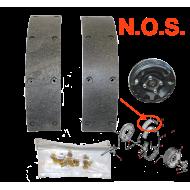 Garnitures frein main à tambour - N.O.S.