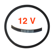 Courroie ventilateur 12 Volts - 55 amp