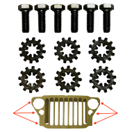 Kit fixation calandre / Ailes