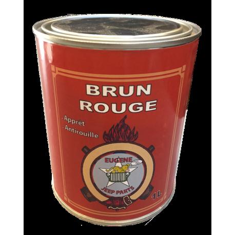 Peinture Brun Rouge - Apprêt - Anti rouille