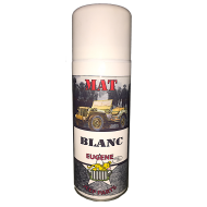 Bombe spray - Blanc Mat