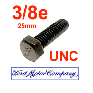 Vis 3/8e UNC 25mm- FORD