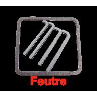 Feutres porte coffre outil - Autocollant - 1 porte