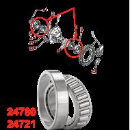 Roulement différentiel 24780-24721
