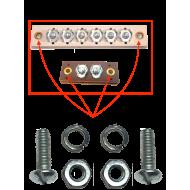 Kit fixation bloc bornes jonctions / carrosserie
