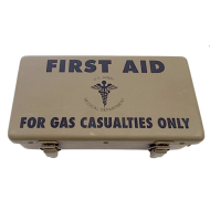 Boîte FIRST AID - Gas Casualities