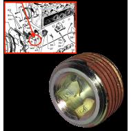 Bouchon rampe huile moteur 3/8e 18
