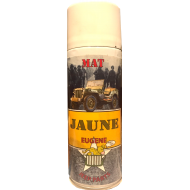 Bombe spray  JAUNE - MAT