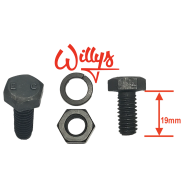 Boulon Willys -E C - 5/16e UNC - 19mm