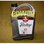 Huile IGOL Héritage 20W50 - 5 litres