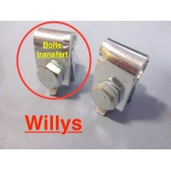 clip cable frein à main sur BT - Willys MB - complet