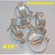 Collier durites refroidissement A10 1/2, US cadmié