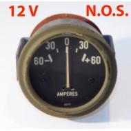 Ampèremètre 12 volts N.O.S.