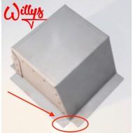 Coffrage tête amortisseur gauche, Willys MB