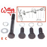 kit visserie pompe eau - Willys