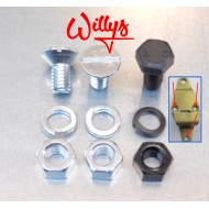 Kit fixation arceau AR - Willys