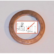 Joint cuivre arrière maître cylindre