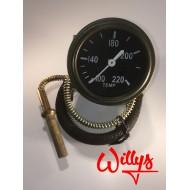 Manomètre de température eau type US Willys