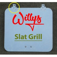 Couvercle coffre outils Willys Slat Grill - Early