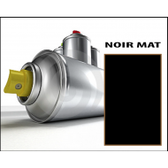 Bombe spray NOIR MAT
